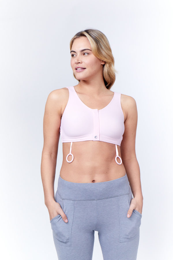 Beautiful Airway 42D style 1598 mastectomy bra vintage 1990/'s made to wear with breast prosthesis